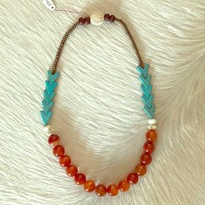 Jewelry - 💥SALE 🔸Boho-Chic 💎 Beaded Necklace